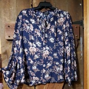 LUCKYbrand floral blouse